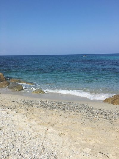 Italy Sea Beach Wave Clear Sky Kayak Water Nature Relaxing Moments