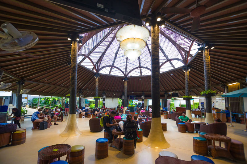 Taxfree Airport Architecture Ceiling Chair Day Hall Illuminated Indoors  Large Group Of People Men People Real People Sitting Table