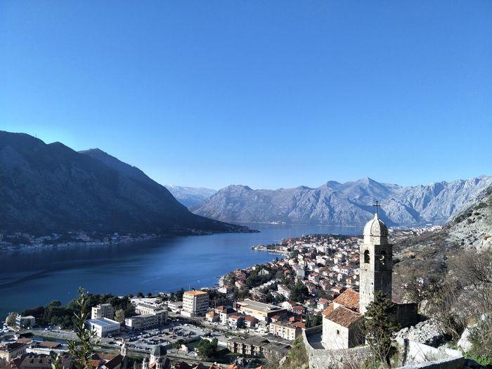 Bay view Kotor