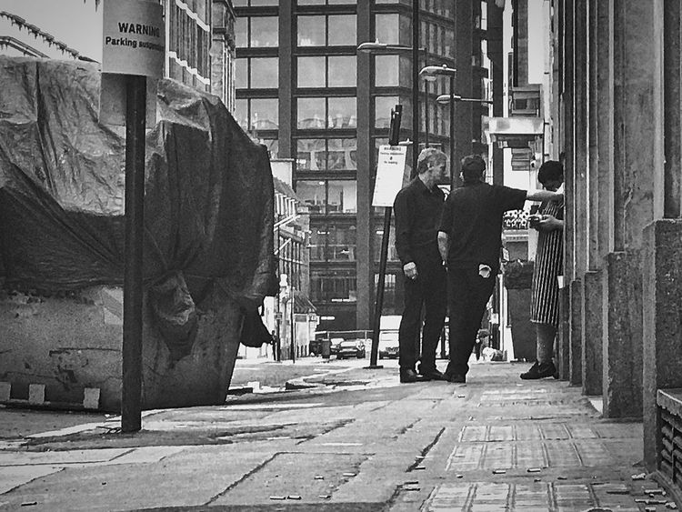 Men Built Structure Two People Building Exterior City Real People Architecture Rear View Adult Full Length Walking Only Men City Life Adults Only Outdoors Day Lifestyles Standing People Morning Shift EyeEm LOST IN London