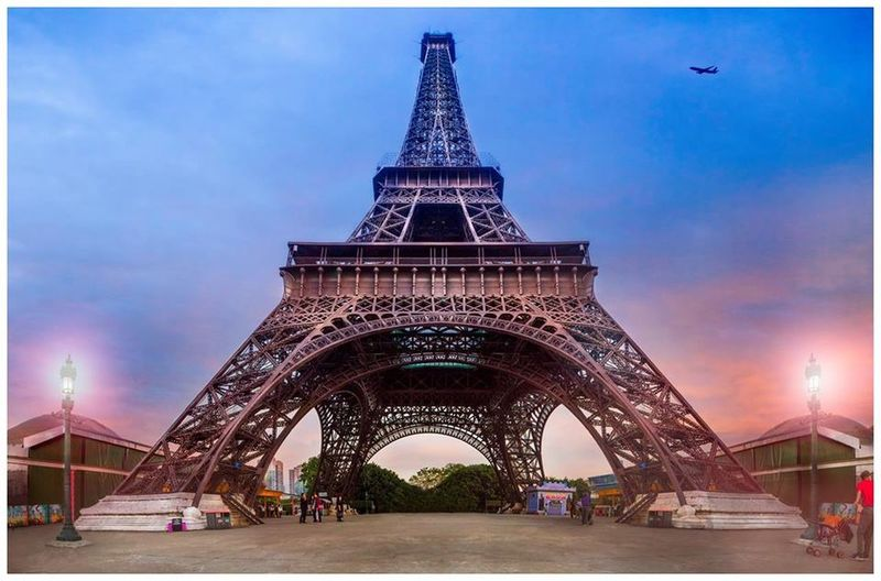 Eiffel Tower in China Tower Eiffel Tower China Window Of The World  Seeing The Sights Shenzhen