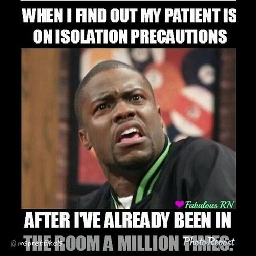 "My current situation ??? By @msprettikels ""Happen to me the other night Funnynotfunny Nursehumor Antibacterialsoapandhandsanitizer Ppeplease "" via @PhotoRepost_app"