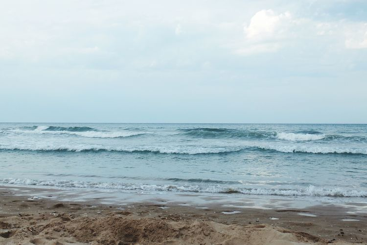 Beach Beauty In Nature Water Sky No People Nature Sand Vacations Sea Nature Photography Nature_collection Clear Sky Tranquility