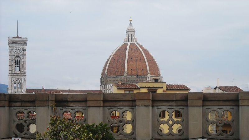 Florence Italy❤️ Old Buildings Building Exterior Architecture Structure Facades Renaissance Medieval Duomo Di Firenze Duomo Florence City View  View From Balcony city view