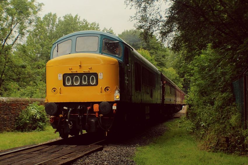 Locomotive Class 45 Summerseat Hanging Out Enjoying Life