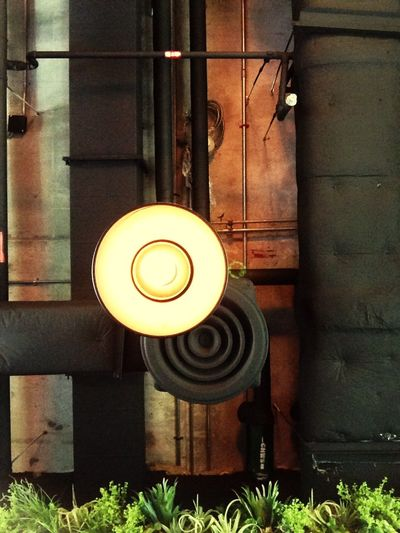 Top light Industrial Style Ceiling Nude Ceiling Texture Look One Light Down Light Vintage Light