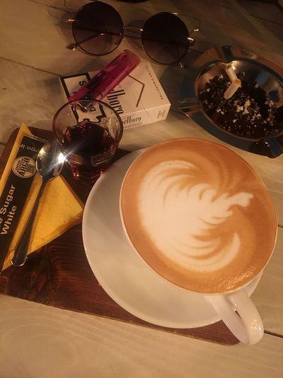 Coffee And Cigarettes Caramel Macchiato