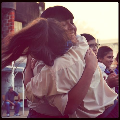 Friends Love Argentina Hug ?