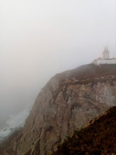 Cabo da Roca forever in my heart Supernatural Europe Trip Europe Sintra Awesome Naturephotography Amazing Nature Wonderful View Cabo Da Roca Cabo Portugal Mountain Nature Fog No People Outdoors Beauty In Nature Landscape Scenics Sky Sea Day Cliff EyeEmNewHere