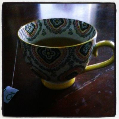 Loving my new tea cup gifted by one of my besties Tara Duckworth. Oh and the lovely jasmine green tea that fills it. HAPPY HOLIDAY!