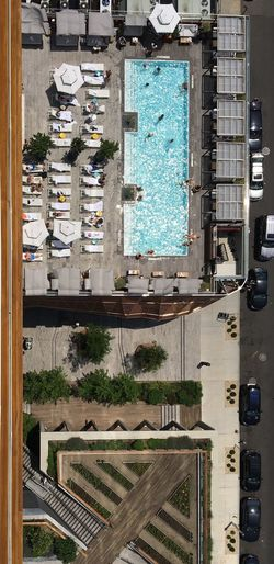 I Phone 6s Williamsburg Brooklyn view from above. Perspectives Day