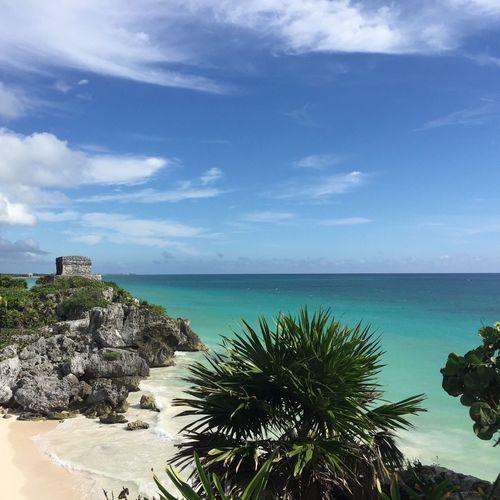 Tulum Dreambeach Tulum Carribean Sea Sky Horizon Over Water Nature Scenics Beauty In Nature EyeEmNewHere