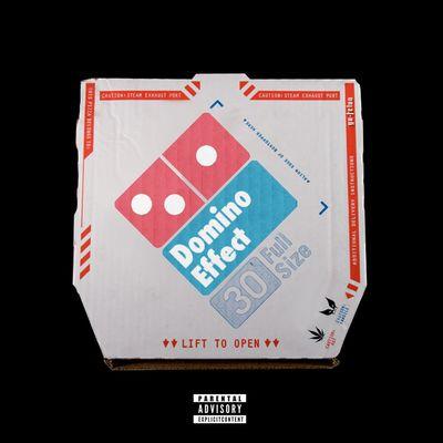 Domino Effect AlbumArt Coverart Domino's Pizza Comission