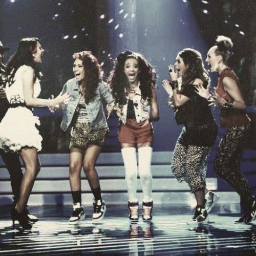 Littlemix X -factor winner,love them ** very happy for them! :)) NEONLIGHTTOUR Salute THIS IS AMAZING = D