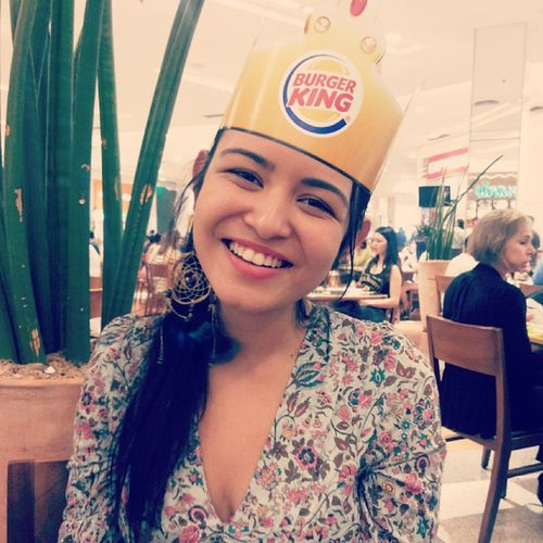 Happy Kid Burgerking sunday