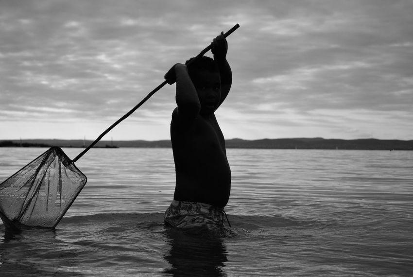 Balaton Beach Fishing Hobbies Kid Leisure Activity Lifestyles Vacations Water