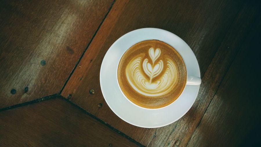 hot latte Coffee - Drink Drink Food And Drink Latte Froth Art latte art