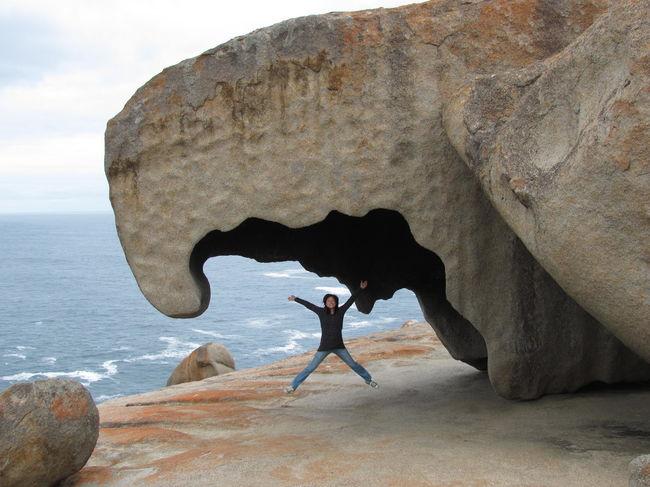 South Australia Travel Wanderlust Adventure Jumpingpic Kangarooisland Naturalwonder Planetearth