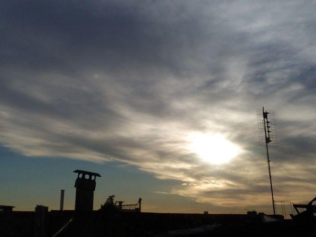 No People Day City Sky HDR Huawei Y6 La Belleza En Lo Simple Atardecer En Buenos Aires