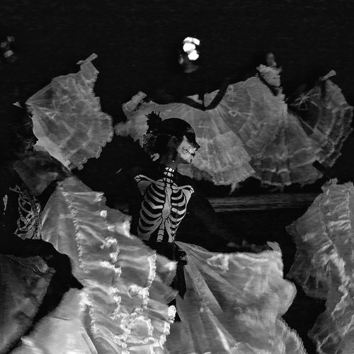 Viva Arizona Ballet Tucson Arizona  Dia De Los Muertos Dance Photography Arizona City Of Tucson Tucson, Az. Tucson Black And White Performance
