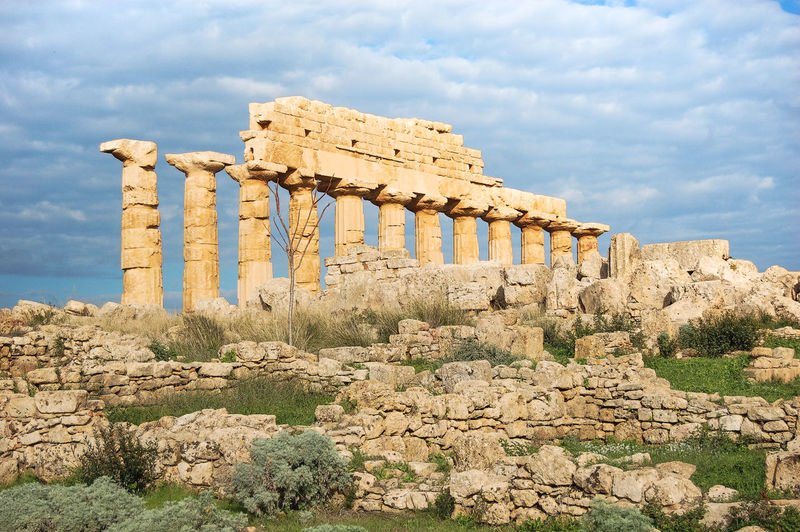 Ruins of agrigento