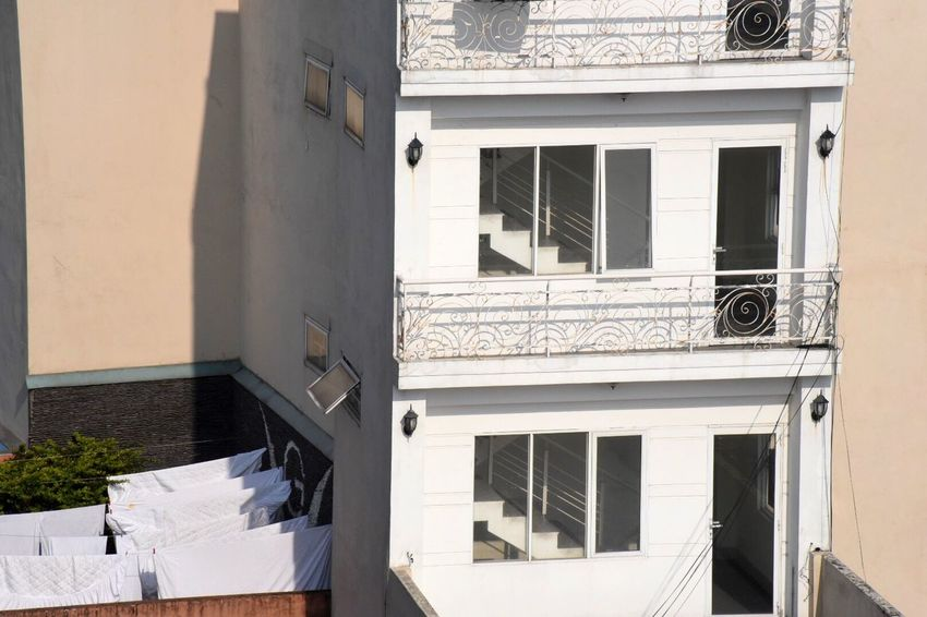 White Architecture Building Exterior Built Structure Window Residential Building Outdoors House Day Sunlight No People