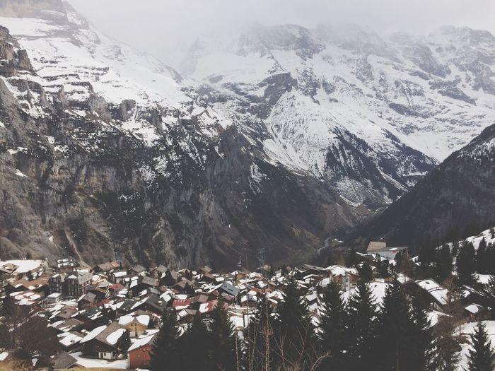 Beautiful village Muerren
