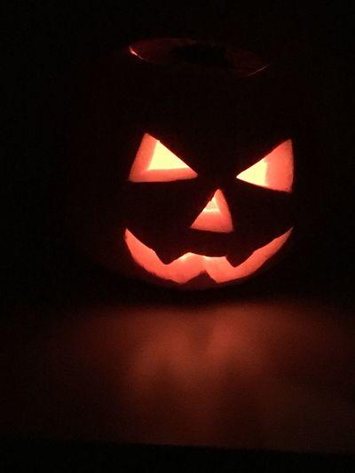 Trick or treat ! 👻 Halloween Pumpkin Celebration Jack O Lantern Holiday - Event Night Tradition Illuminated Haloween Scary Face Scary Night