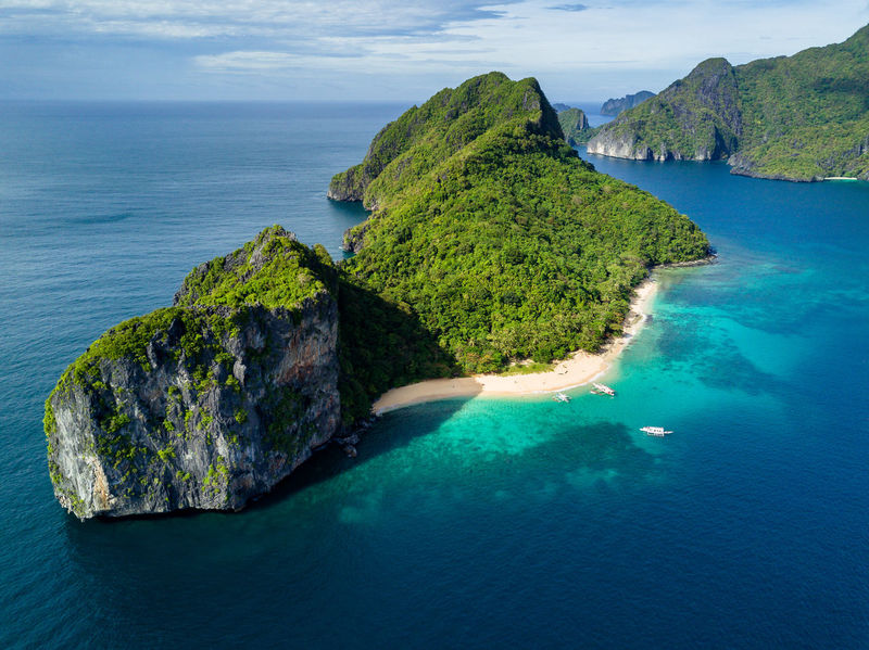 Helicopter Island in Palawan, Philippines Shot with the DJI Mavic Pro drone Beach Beauty In Nature Day Djimavic Drone  Dronephotography Droneshot Eyeem Philippines Horizon Over Water Limestone Nature No People Outdoors Philippines Scenics Sea Water Lost In The Landscape