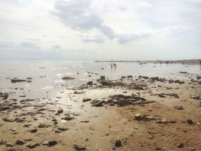 Sea Sky Beach Land Water Horizon Scenics - Nature