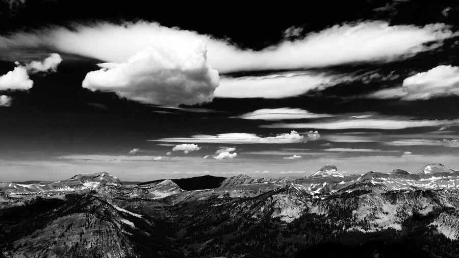 Clouds And Sky Mountains And Sky Jackson Hole