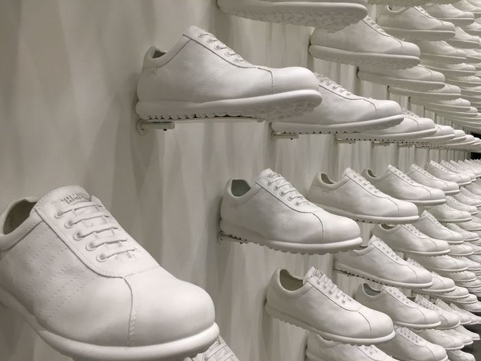 EyeEm Selects Shoe Pair White Color Indoors  Fashion Shoelace No People Ice Skate Close-up Day Ice Rink