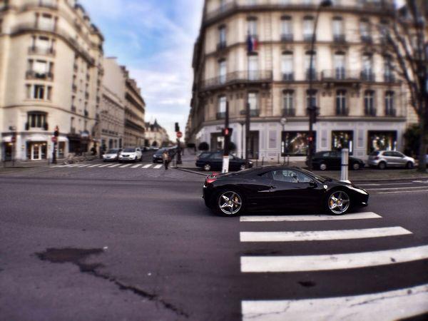 Ferrari 458 Italia near the Plaza Athenee Paris Ferrari Ferrari458Italia