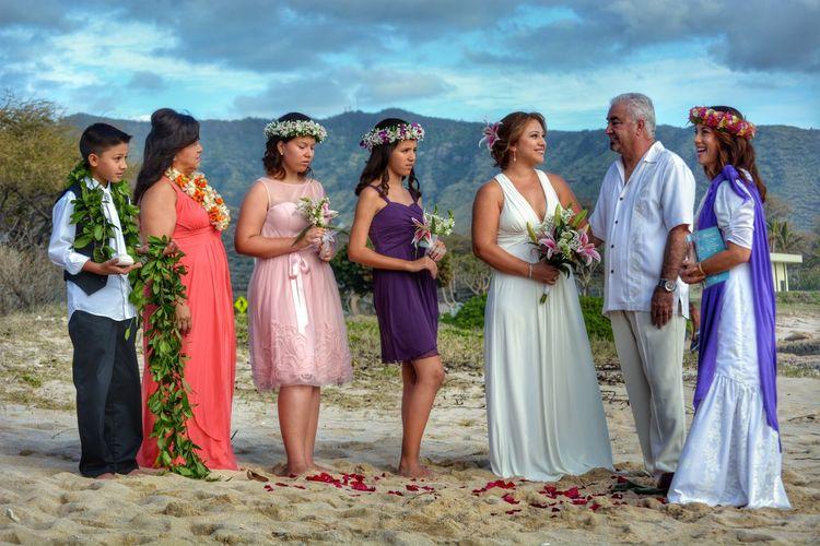 Hawaiian wedding... Wedding Hawaii Beach Nanakuli