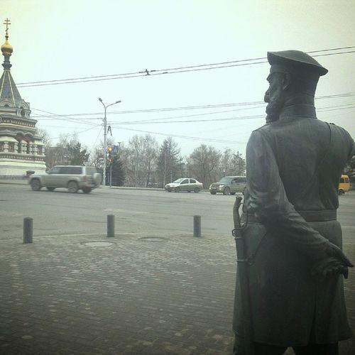 омск младший сержант наган памятник российская империя