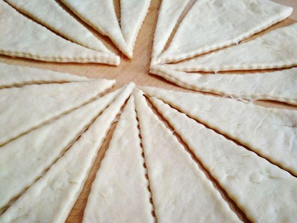 Dough Croissant Croissant Aux Chocolate Baking Preparing Food