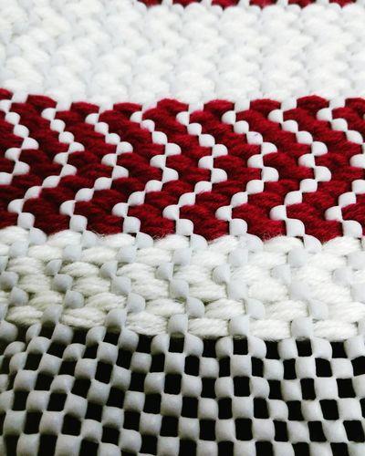Carpet Hali Kilim Kirmizi Beyaz White Red Handwork Homework School Ev Odevi El Isi