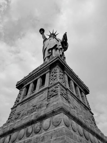 Travel Destinations Architecture Statue History Statue Of Liberty Liberty Law New York City New York Liberty Island Low Angle View