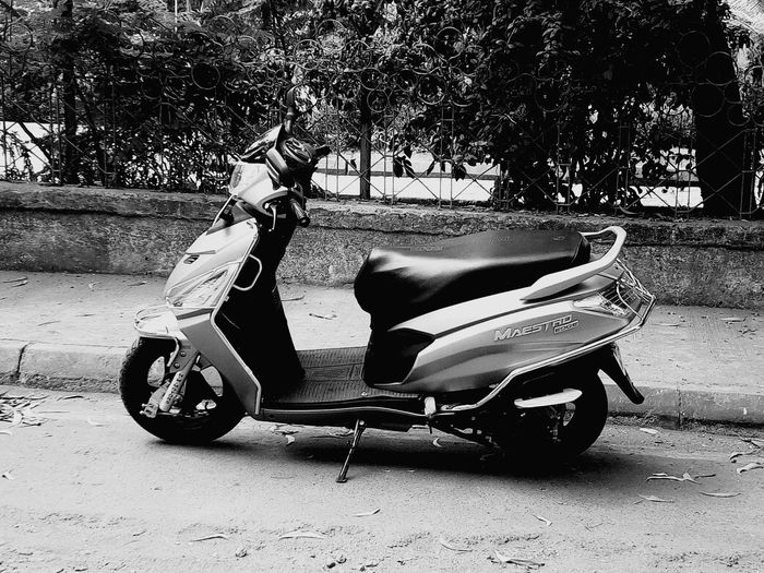 Scooter Land Vehicle Monochrome Photography Maestroedge Heromotocorp Mattegrey