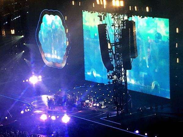 AHFODtour Thankyou Coldplay Coldplay Concert  Music Show Stage - Performance Space Live Music Wonderful Music Tokyo Concert