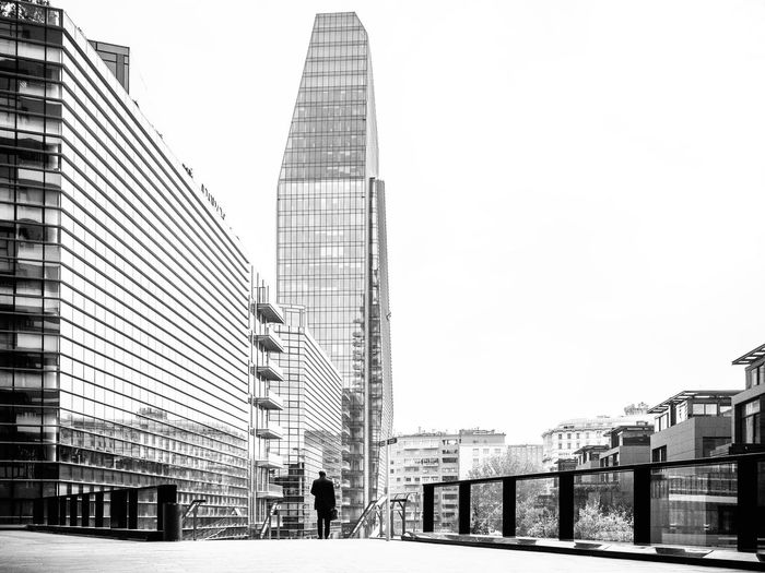 Babel // Milano // Nov'16 Architecture Building Exterior City Skyscraper Outdoors Modern Sky Travel Destinations Day City Life Clear Sky People Cityscape Downtown District Adults Only Urban Skyline Streetphotography Mirrorless Olympus Milan Italy Milano Blackandwhite Monochrome The Architect - 2017 EyeEm Awards