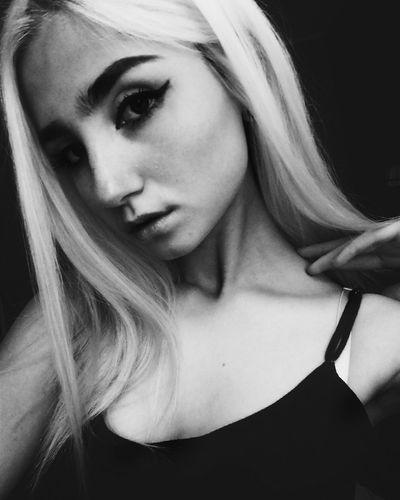 Love Home Blackandwhite Whitegirl  Blonde ♡ Tumblrgirl