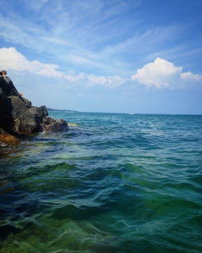 Water Pure Michigan Lexington Beach Rock Last Days Of Summer