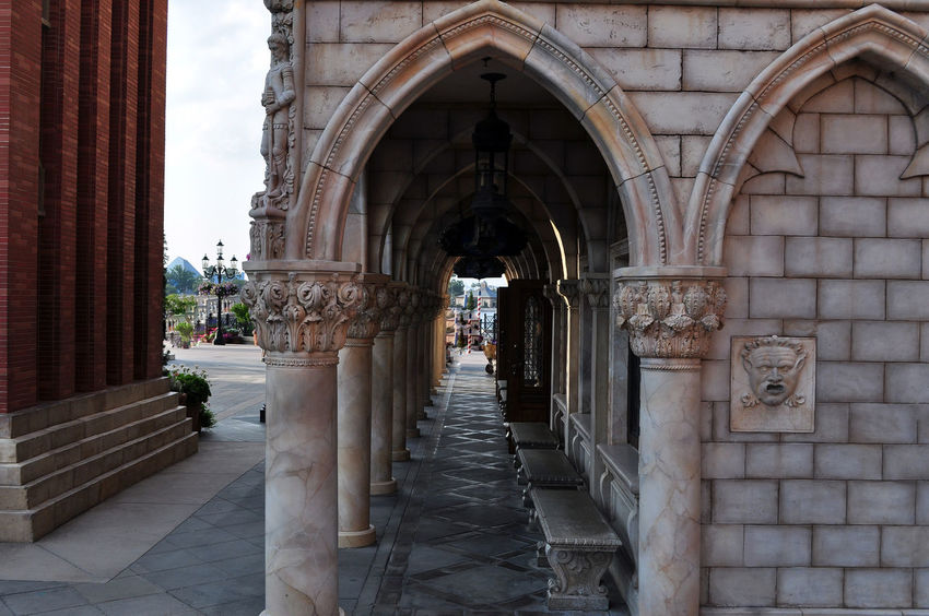 Architecture Architecture_collection Been There. Disney Nikon Orlando Arch Architectural Feature Architecture Building Exterior Built Structure Day Epcot No People Outdoors The Way Forward