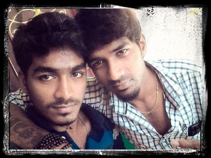 Selfie with my handsome bro