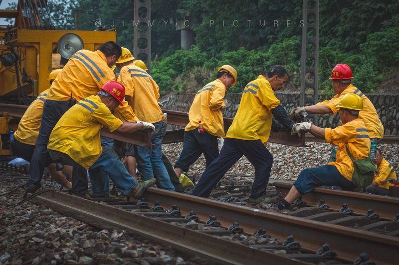 线路工 铁路工人 工务 大修段