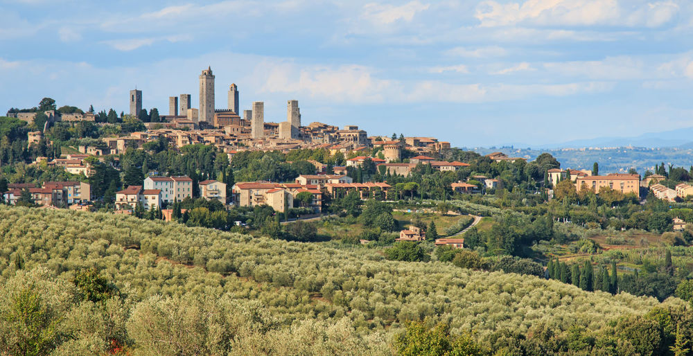 San Gimignano - Tuscany Agriculture Ancient Architecture Building Exterior Built Structure City Cityscape Classic Europe Fosdinovo House Italy Landmark No People Outdoors Panoramic Residential Building San Gimignano Sky Toscana Town Tree Tuscany Urban Skyline Volterra