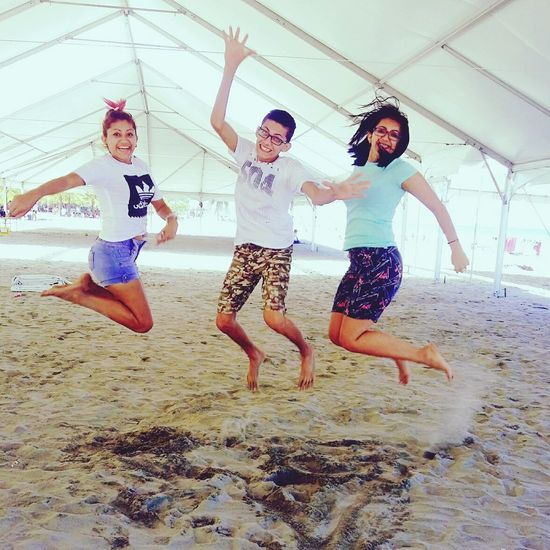 Telamar Resort Resort Beach Enjoyment Jumping Activity People Young Adult Day Nature Jovenes Adult Popular Photos Popular Alwaystogether Hermandad Sisters ❤ Love Sister ❤️ Arenas