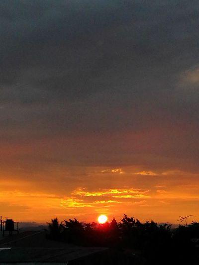 From my window Sunset Sky