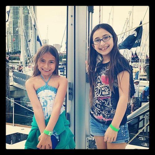 Sailin' girlies. ..